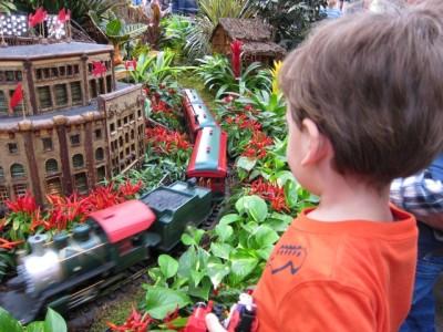 New York Botanical Garden Holiday Train Show 2010