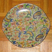 Burlington chintz plate