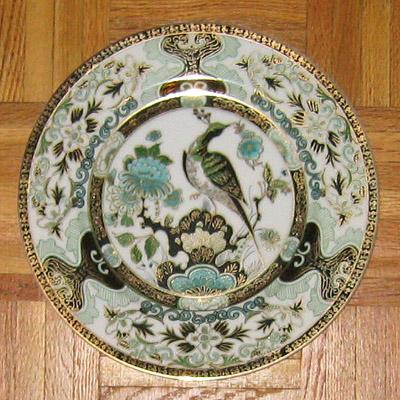 Imari style plate & Antique Plates: imari_plate