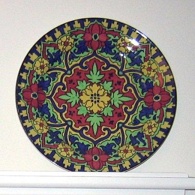 Royal Doulton Iznik porcelain plate, D4863