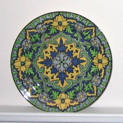Royal Doulton Iznik porcelain plate, D4862