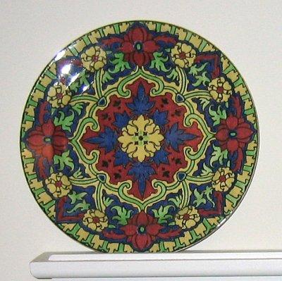 Royal Doulton Iznik porcelain plate, D4864