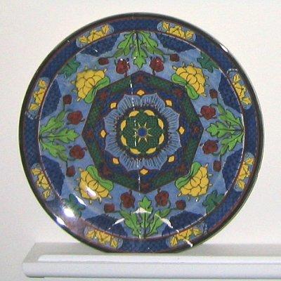 Royal Doulton porcelain plate D4649 & Antique Plates: royal_doulton_plate_02