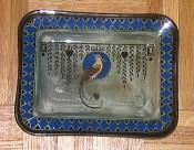 Royal Doulton Titanian Bird of Paradise Tray, D4222