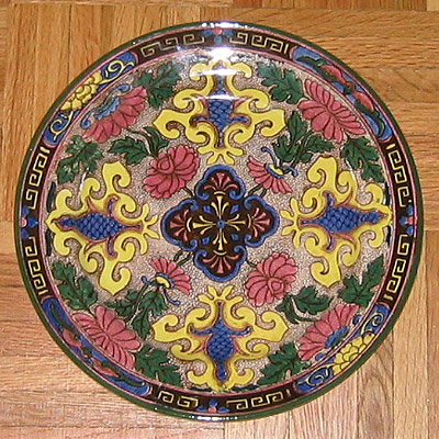 Royal Doulton porcelain plate D3087 & Antique Plates: royal_doulton_plate_10