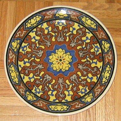 Royal Doulton plate D4901 & Antique Plates: royal_doulton_plate_11