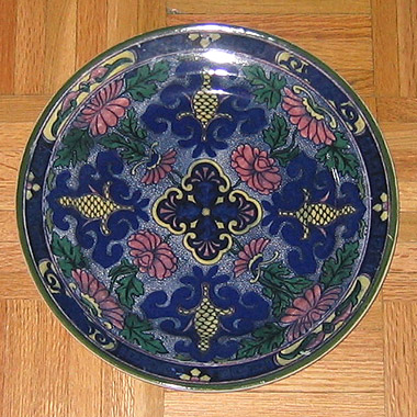 Royal Doulton porcelain plate D3088 & Antique Plates: royal_doulton_plate_13