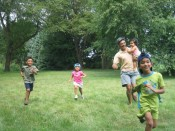 4 kids and one very energetic dad
