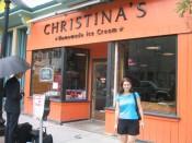 our top local ice cream pick: Christina's, Cambridge MA