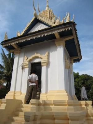 Wat Thmei stupa
