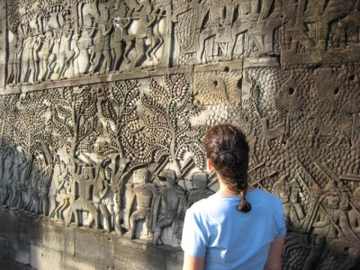 Bayon frieze