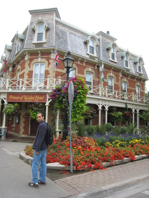 Lunch at Niagara-on-the-Lake