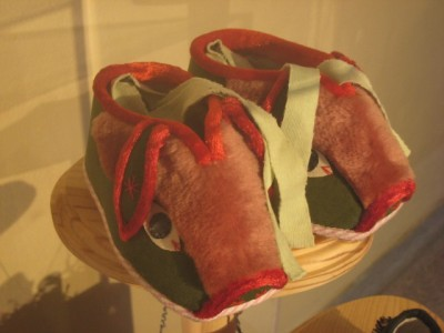 Bata Shoe Museum: Pig shoes