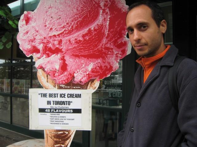 "The claim: ""The Best Ice Cream in Toronto!"""