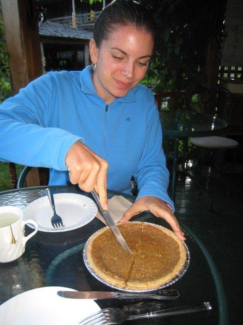 Maple syrup (erable) pie
