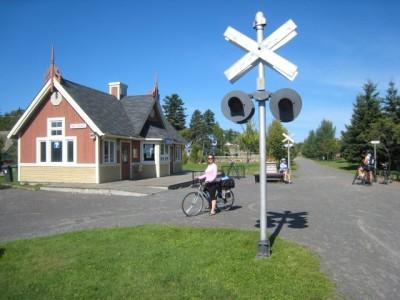 Le P'tit Train du Nord: Val David