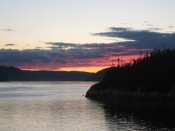 Sunset in Tadoussac