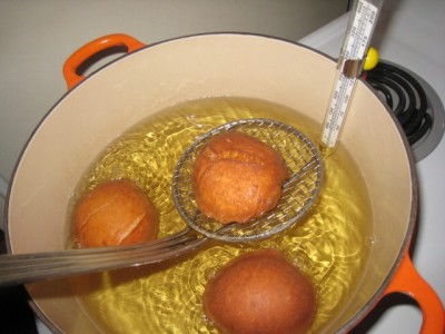 Suvganyot (Fritters; Jelly Doughnuts)