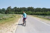 biking in Chincoteague National Wildlife Refuge