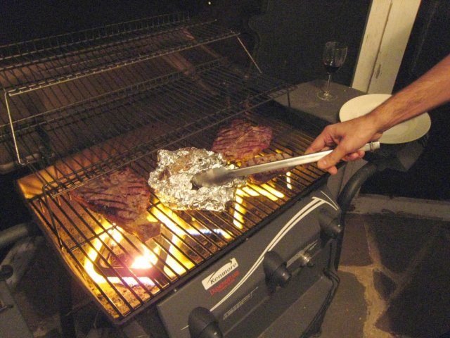 class is now in session. (Porterhouse 101: Remedial Grilling)