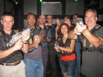 Laser Tag - Team GREEN