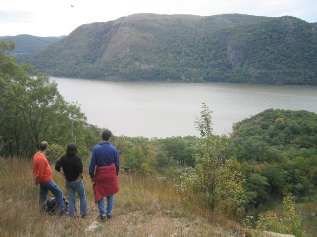view of the Hudson River from the Mt. Taurus trail