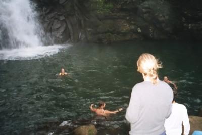swimming hole, Rara Avis rainforest