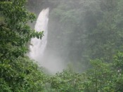 """Half of the two falls that make up Trafalgar Falls, this one is the """"father""""..."""