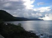 western coastline of Dominica