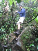 Ron scaling branches down the mountain