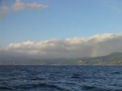 rainbow over Dominica