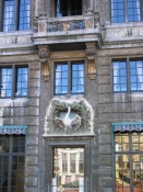 architectural detail in Brussels' Grand-Place