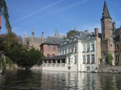 Brugge by canal