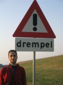 ! watch out for the drempel !