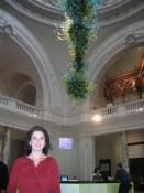 Victoria & Albert Museum lobby--best museum in the world