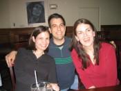 three attractive people (plus bob marley)