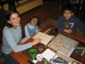 Scrabble (who's winning?)