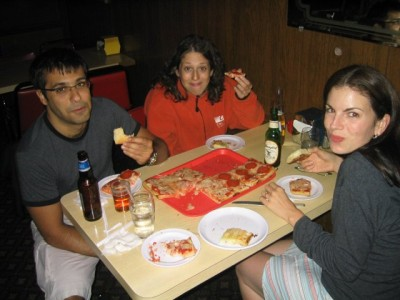 """Revello's Pizza, in Old Forge, PA (the """"Pizza Crapital of the World"""")"""