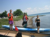 preparing to set sail on Lake Seneca
