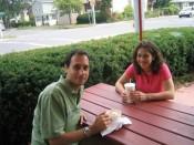 ice cream at Purity's