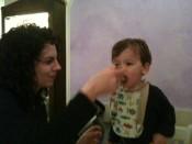 A big hit: yota (jota) soup at Chimera di Bacco in Trieste.