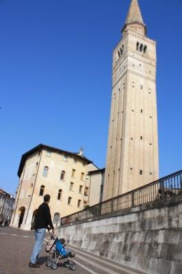 The campanile at Pordenone.