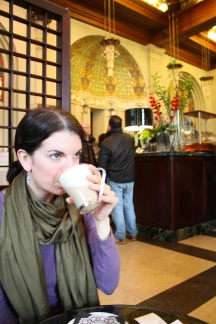 Historic art deco Caffé Contarena, Udine