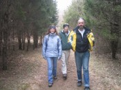"""""""Three soldiers from Frenchtown were walking through the forest..."""""""