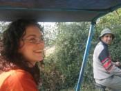 sara and her new friend/fan balraj