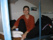 on the overnight train to Madurai.  Sun 12/26/2004, day of tsunami.