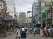 first sight of Meenakshi temple