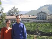 the Tata Tea Factory, Munnar