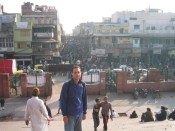view of Chandi Chowk, Old Delhi