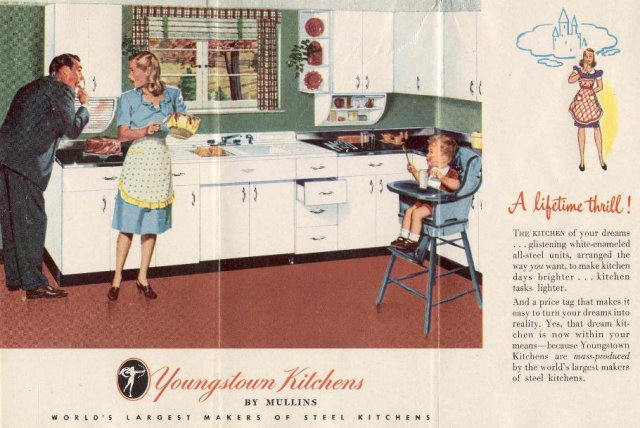 ad agency's Youngstown kitchen